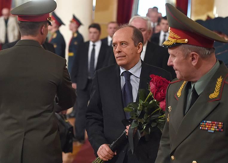 Директор Федеральной службы безопасности (ФСБ) России Александр Бортников