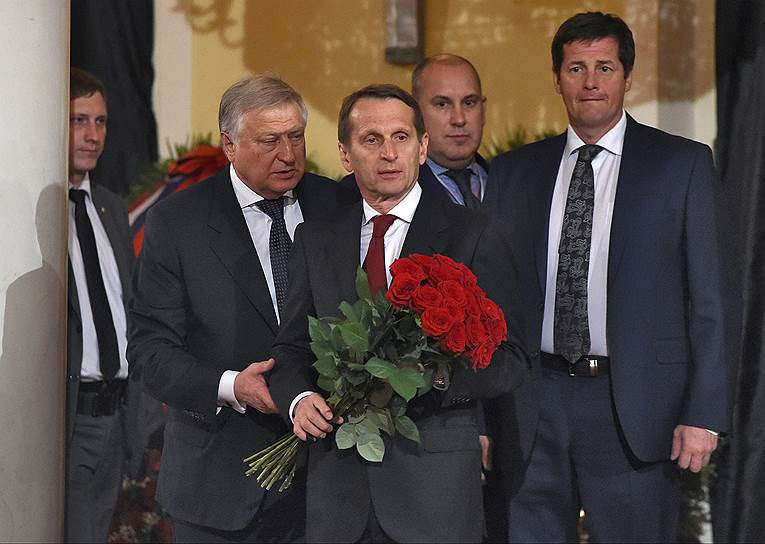 Председатель Государственной думы России Сергей Нарышкин