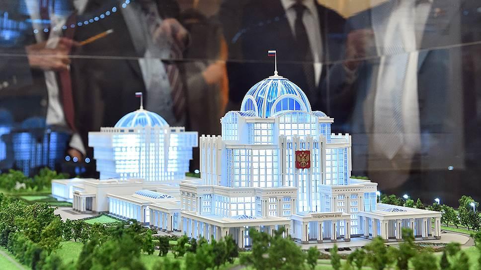 Почему парламентский центр спроектируют заново