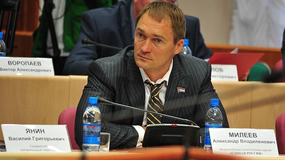 Депутат Самарской губернской думы Александр Милеев
