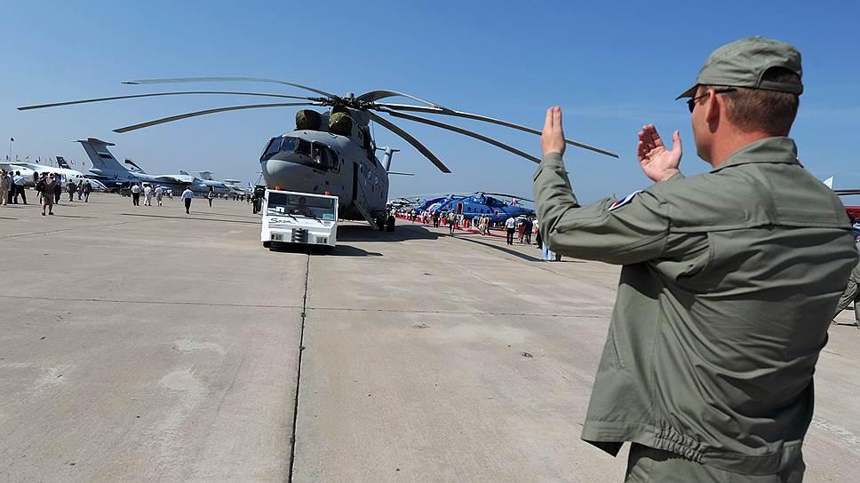 Как российские вертолеты взяли курс на Алжир