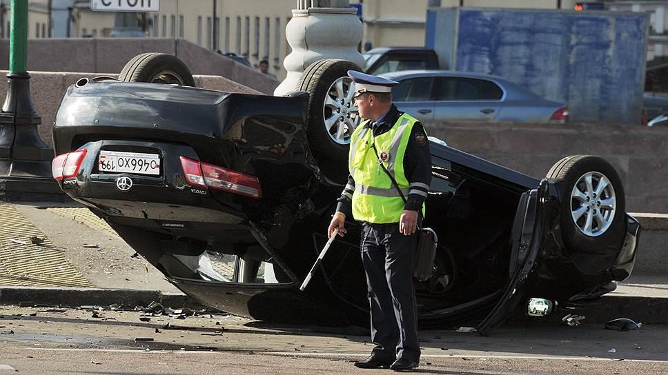 В Москве стало больше пьяных аварий
