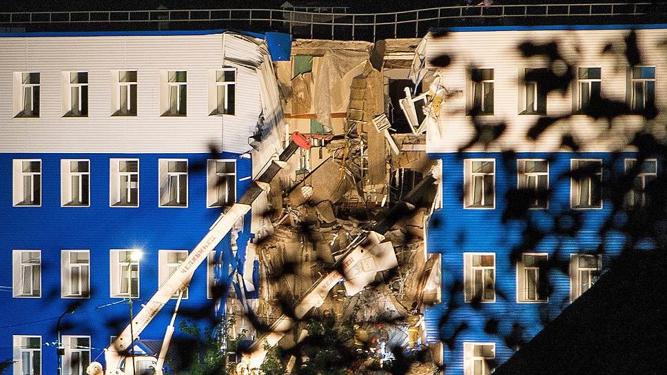 Десантно-строительная катастрофа