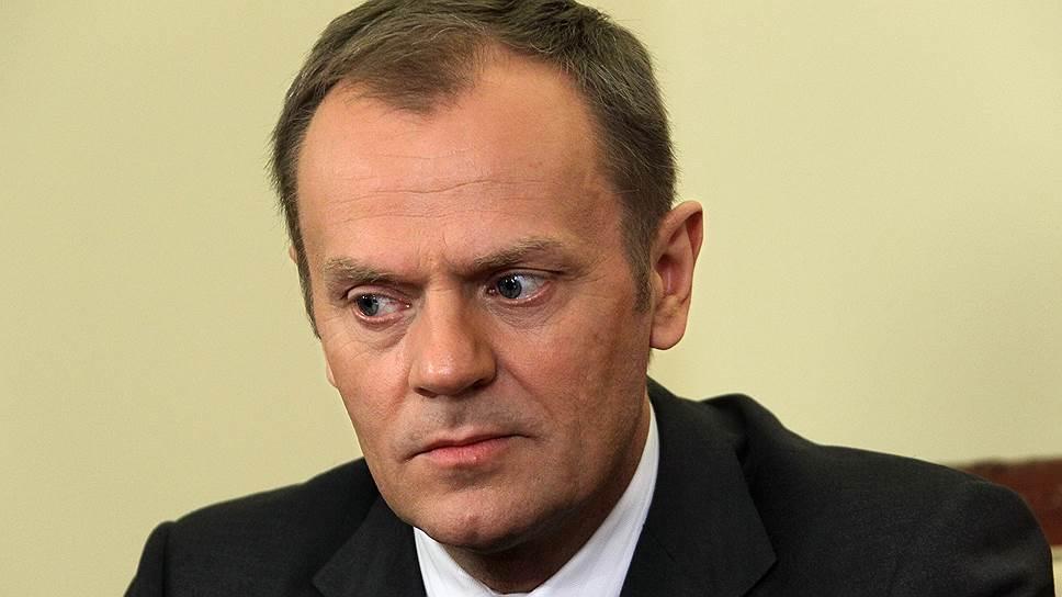 Глава Европейского совета, бывший премьер-министр Польши Дональд Туск