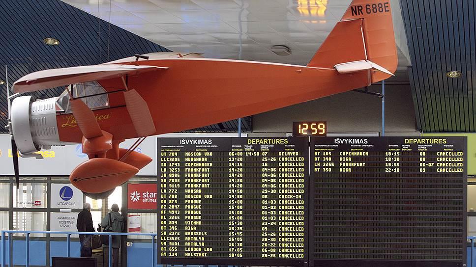 Почему в Вильнюсе хотели закрыть аэропорт