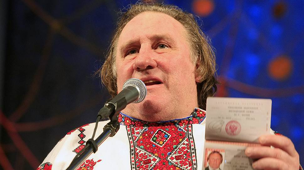 Жерару Депардье запрещают въезд на Украину