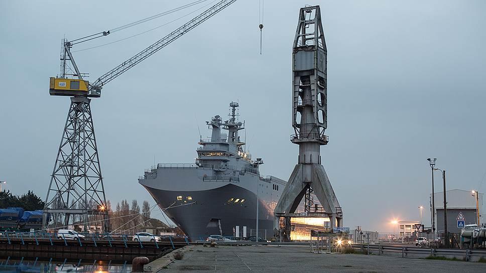 Франция за «Владивосток» и «Севастополь» заплатит