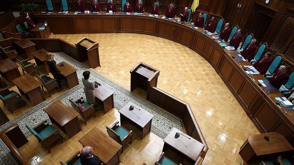 Децентрализацию Украины одобрили в судебном порядке