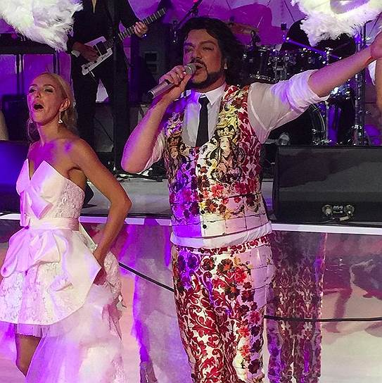 Татьяна Навка исполнила песню с Филиппом Киркоровым
