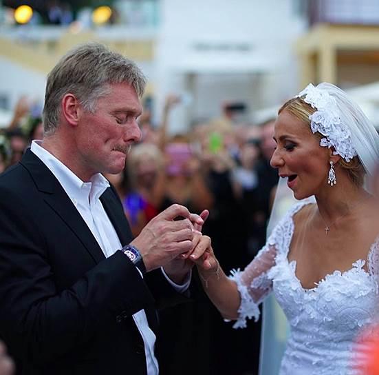 Бракосочетание Дмитрия Пескова и Татьяны Навки состоялось в Сочи