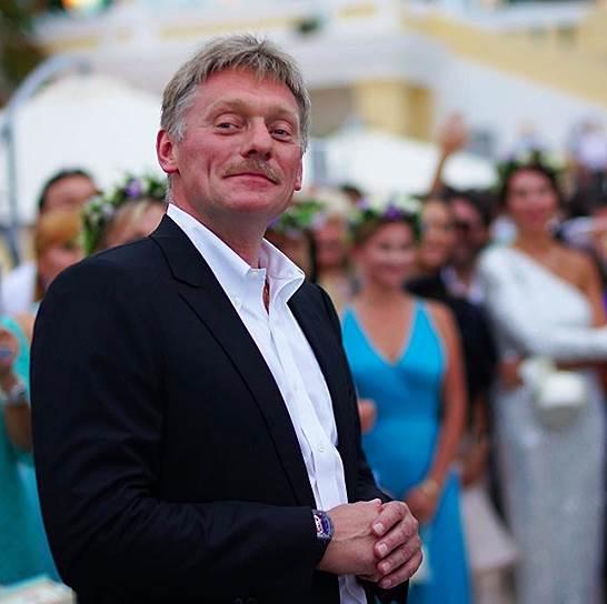 Пресс-секретарь президента, жених Дмитрий Песков