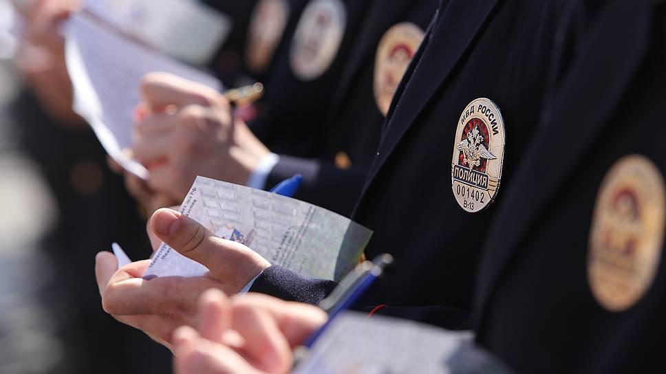 Россияне удовлетворительно оценивают работу полиции
