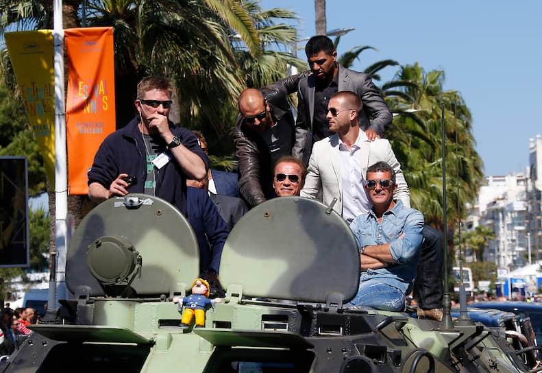 В 2014 году Антонио Бандерас попал в команду «Неудержимых». В третьей части франшизы он сыграл вместе с Сильвестром Сталлоне, Джейсоном Стэтхемом, Мэлом Гибсоном, Харрисоном Фордом и другими