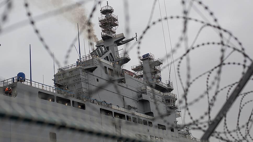 Во Франции требуют расследовать сделку с Россией по Mistral