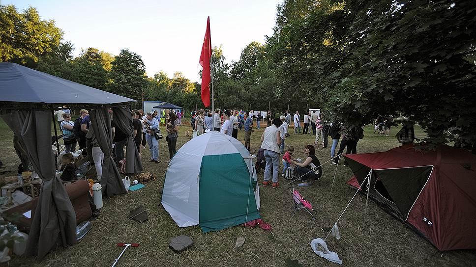 Как в августе ОМОН разогнал защитников парка «Торфянка»