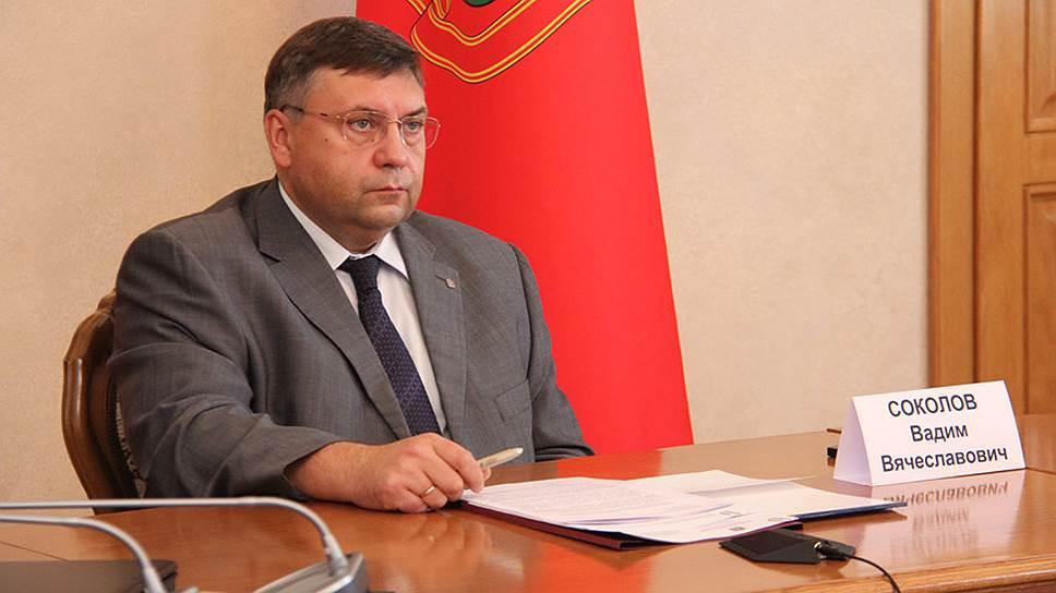 Первый вице-губернатор Орловской области Вадим Соколов