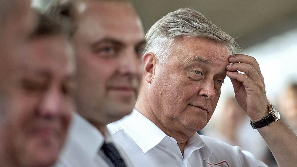 Владимир Якунин переходит из РЖД в Совет федерации
