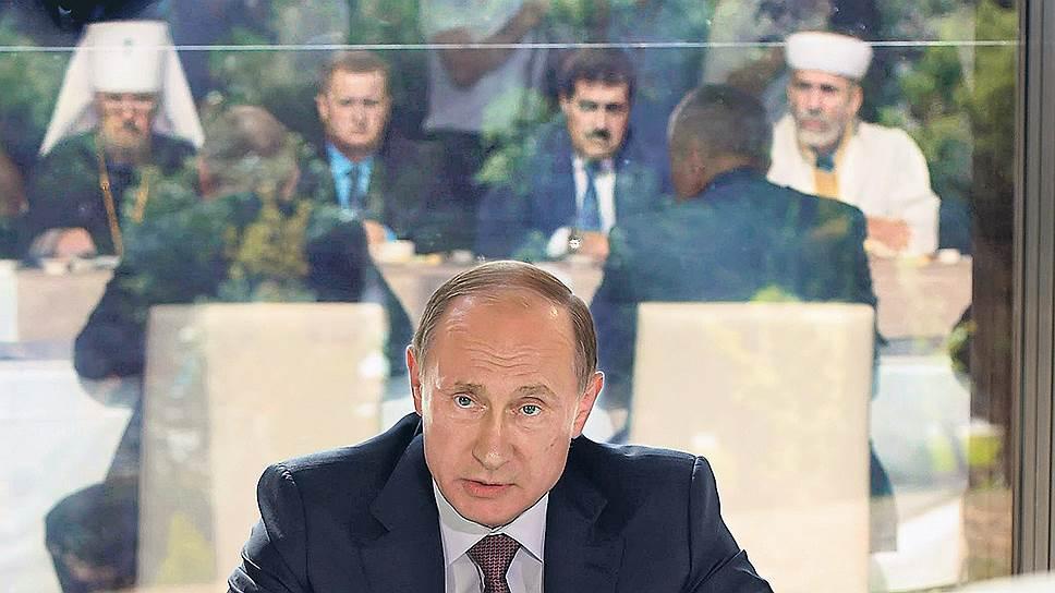 Владимир Путин решил оставить свой след на полуострове