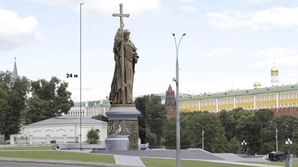 Князь Владимир выходит на Боровицкой