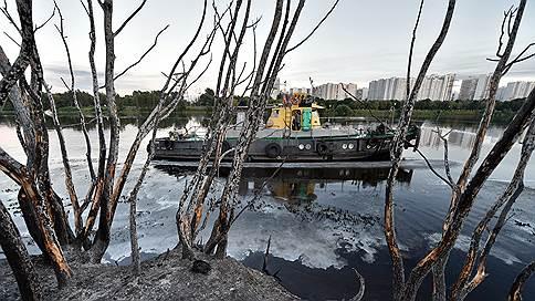 В Москве-реке нашли разные вещества  / Мнения о причинах пожара в Марьино разделились