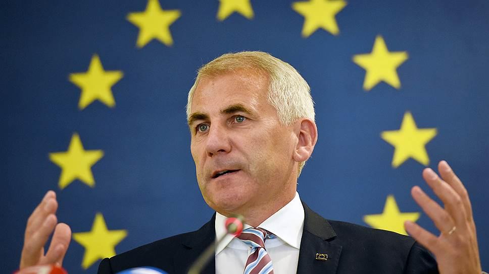 Глава Представительства ЕС в России Вигаудас Ушацкас