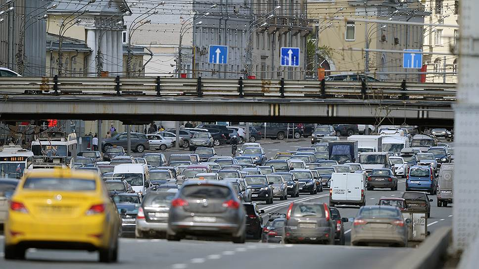 Как в Москву вернулись пробки