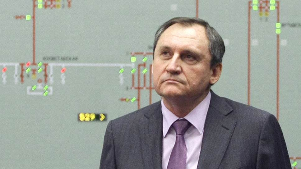 Первый зампред правления «Системного оператора» (СО) Николая Шульгинова