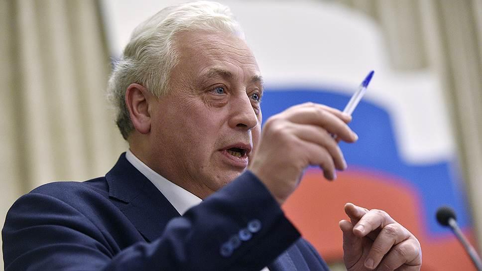 Заместитель мэра Москвы по вопросам соцразвития Леонид Печатников