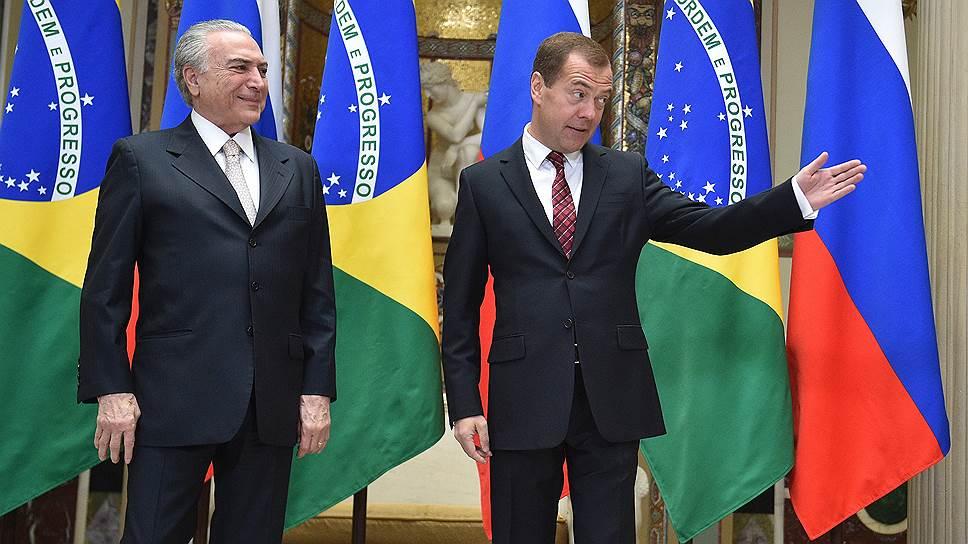 Россия и Бразилия обсудили способы смягчения последствий скачков доллара и евро