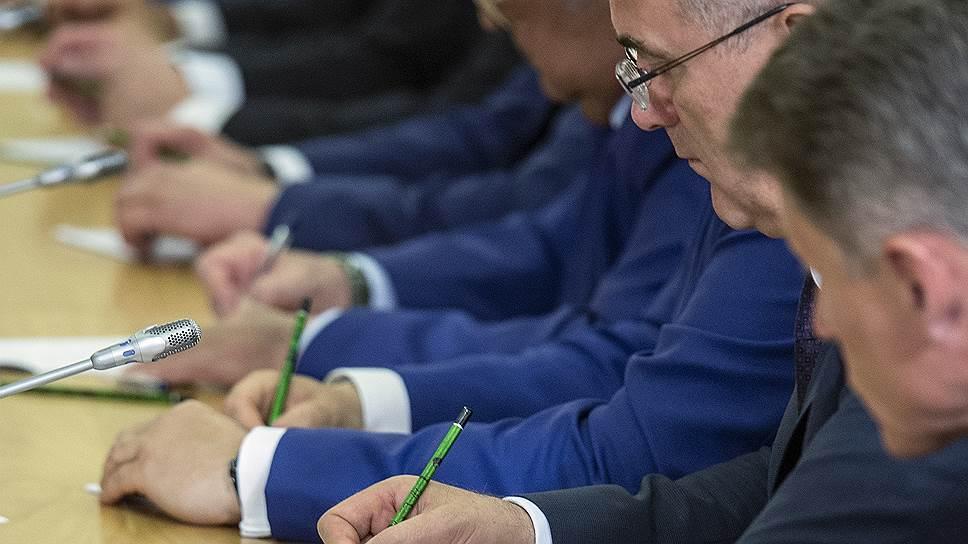 Губернаторы брали на карандаш каждое президентское слово