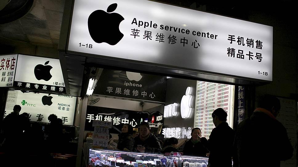 Apple в Китае заразилась вирусами