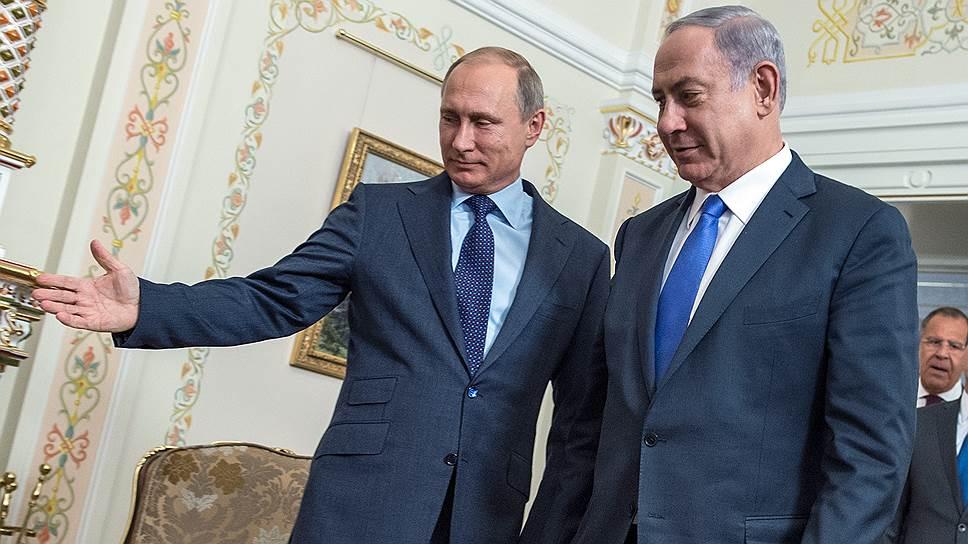 Владимир Путин дал Израилю асимметричный обед