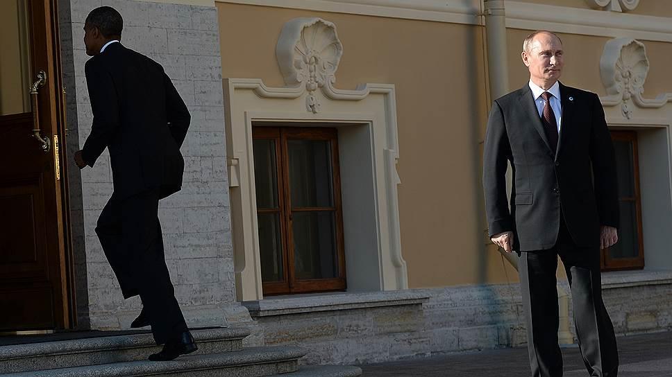 Кремль сначала не подтвердил встречу Владимира Путина и Барака Обамы