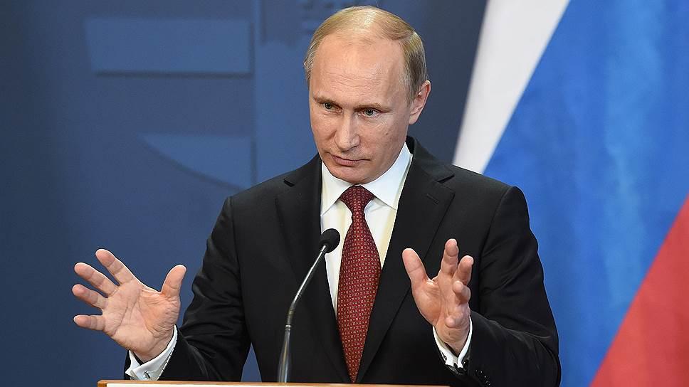 Владимир Путин рассказал о российском присутствии в Сирии