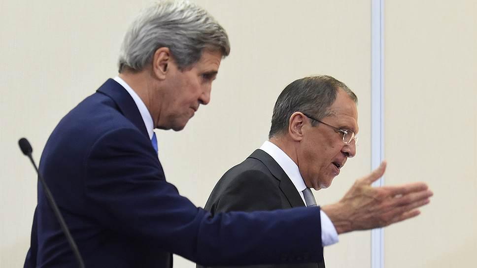 Как Сергей Лавров и Джон Керри проложили путь президентам