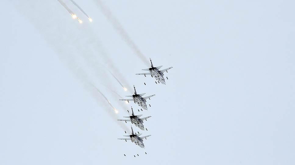Как Россия начала наносить авиаудары в Сирии