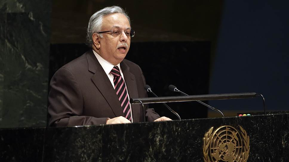 Постпред Саудовской Аравии при ООН Абдалла аль-Муаллими