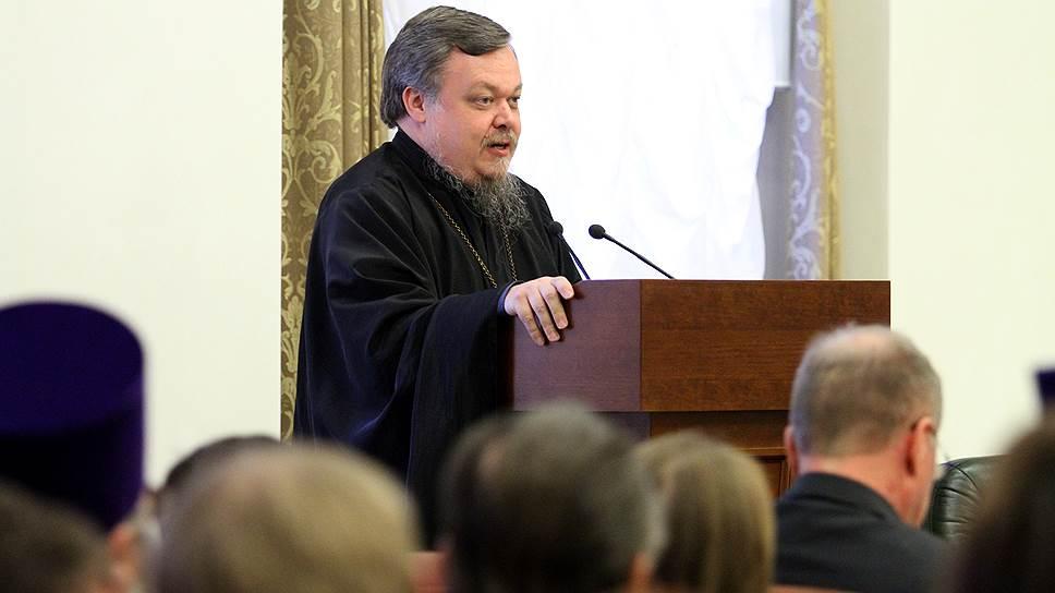 Председатель отдела Московского патриархата по взаимоотношениям церкви и общества Всеволод Чаплин