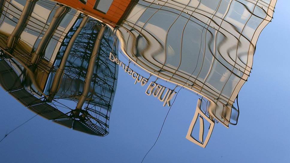 Deutsche Bank потеряет €6млрд за три месяца
