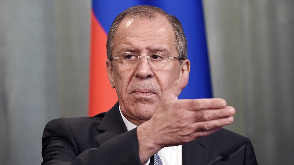 Сергей Лавров предложил «разделение труда» в борьбе с террористами