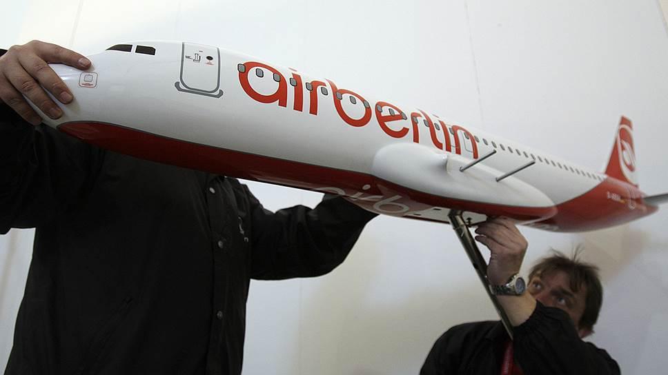 Почему Air Berlin прекратил полеты на российском направлении