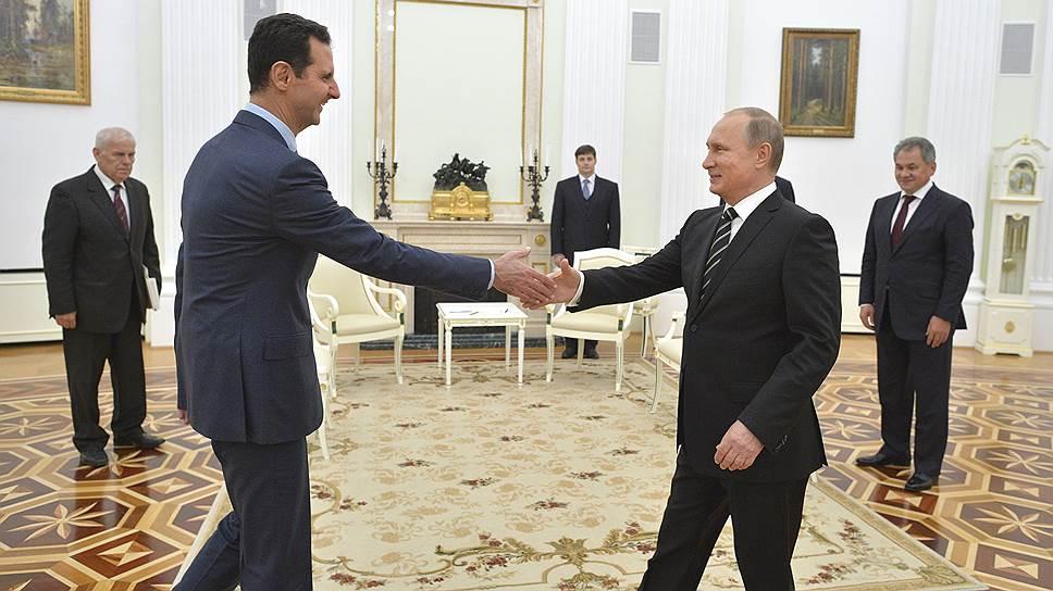 Башар Асад посетил Москву