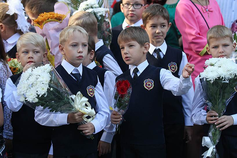 2015 год. День знаний в средней общеобразовательной школе №202 Новосибирска