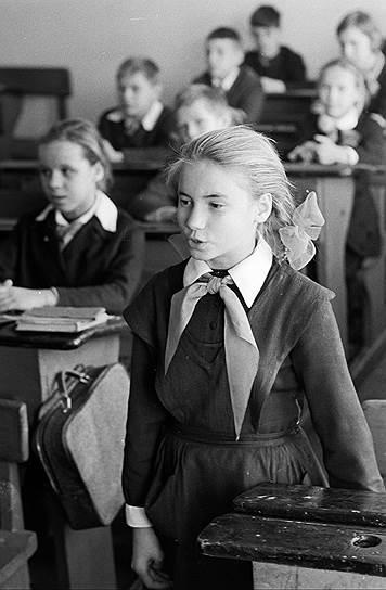 1966 год. Школьница Наташа Критская играет в Ивановском народном театре юного зрителя