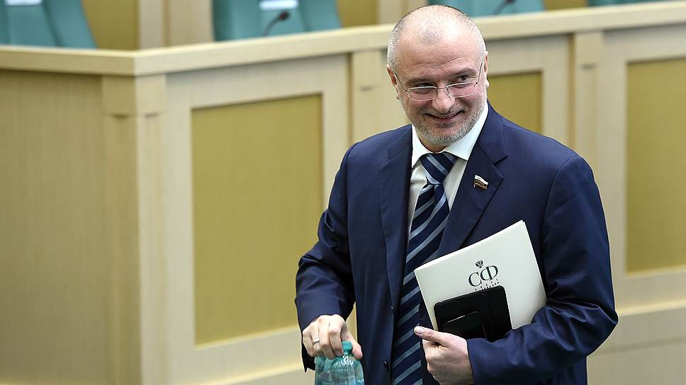 Представитель в СФ от исполнительного органа государственной власти Красноярского края Андрей Клишас