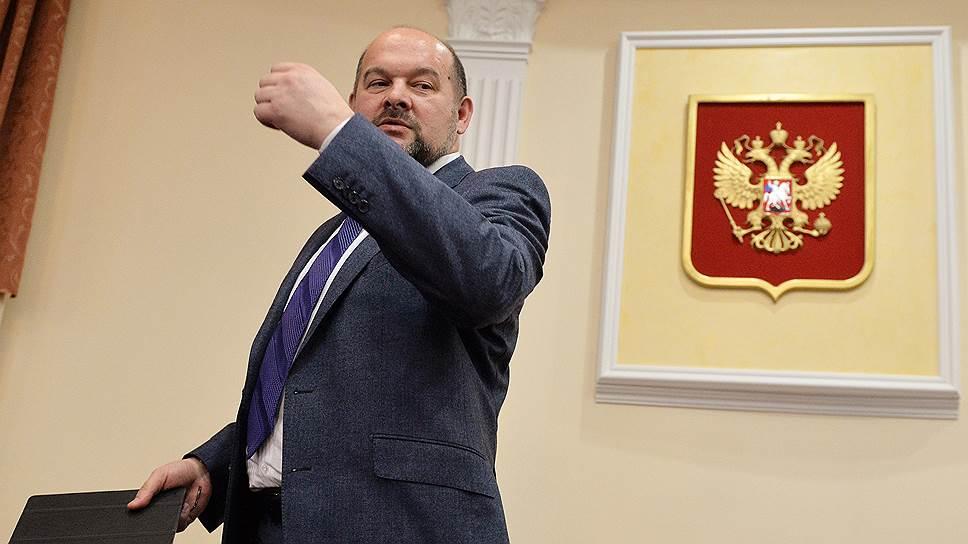 Архангельский губернатор выбрал путь президента