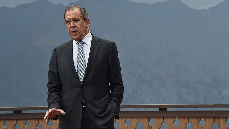 Сергей Лавров подключил Тегеран к сирийскому урегулированию