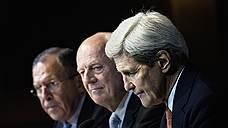 Россия очертила круг стола переговоров