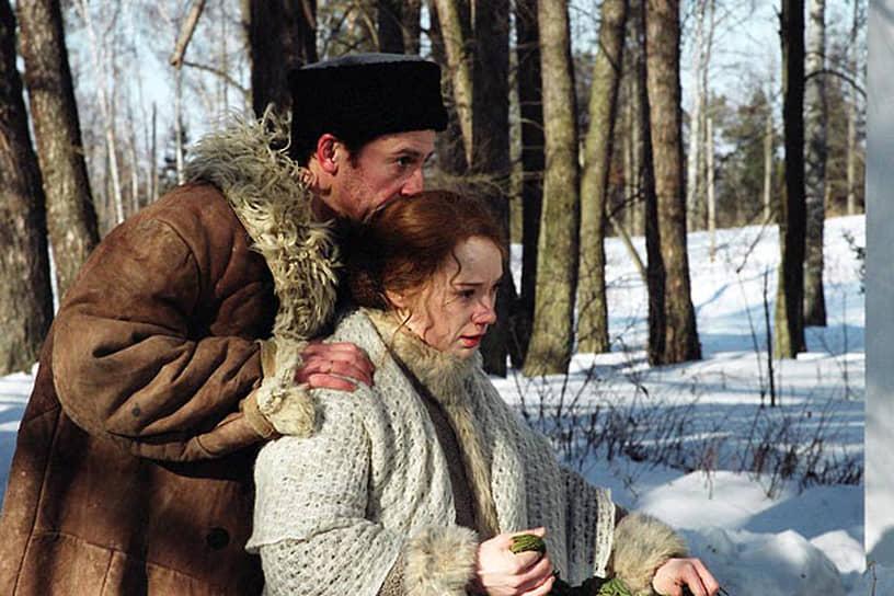 В 2005 году актер сыграл главную роль в телесериале «Доктор Живаго» Александра Прошкина<br>На фото: Олег Меньшиков и Чулпан Хаматова