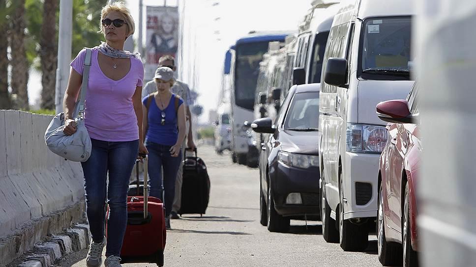 Каир не принимает российский багаж